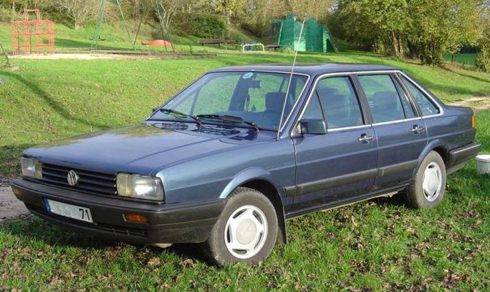Een Volkswagen Santana