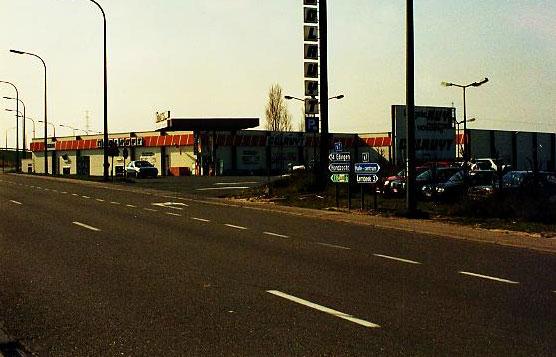 Het Colruyt-warenhuis van Halle.