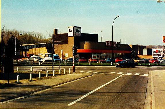 Het Delhaize-warenhuis van Beersel.