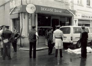 De wapenhandel van Daniel Dekaise in Waver.