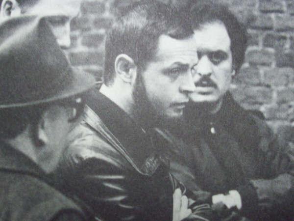 Francis Dossogne, leider van het Front de la Jeunesse.