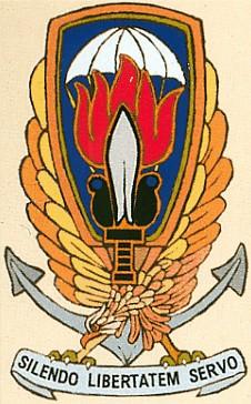 Het logo van Gladio.