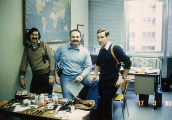 Madani Bouhouche, Christian Amory en Robert Beijer.