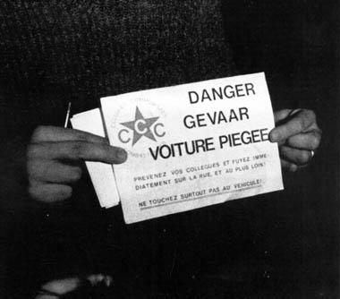 Een waarschuwing van de extreem-linkse CCC.