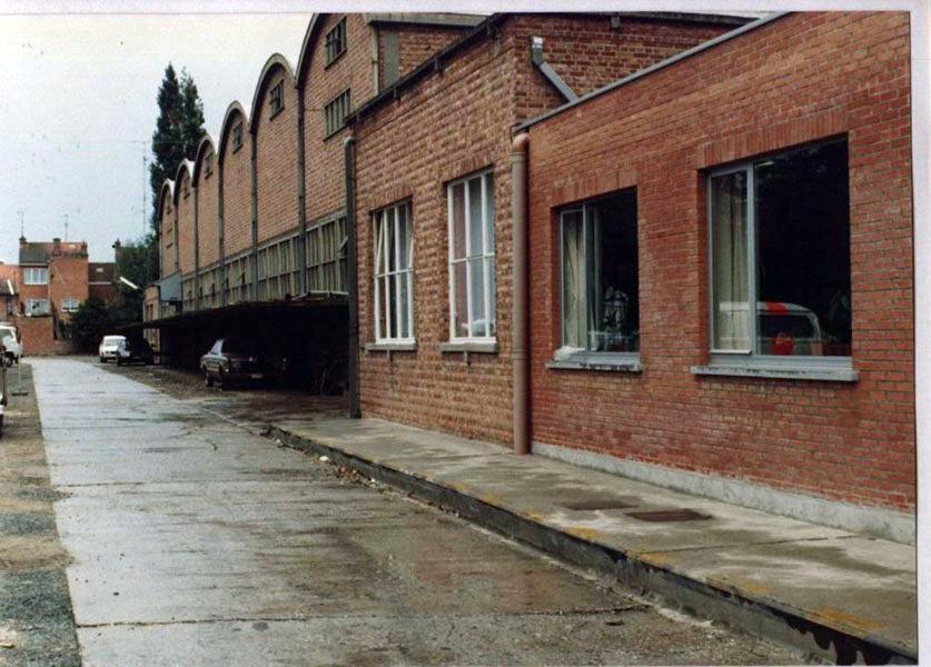 De fabriek van Wittock-Van Landeghem in Temse.