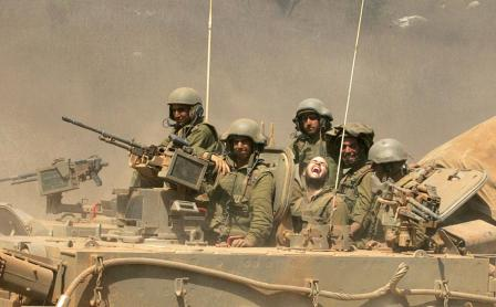 Een beeld uit de Libanese burgeroorlog.