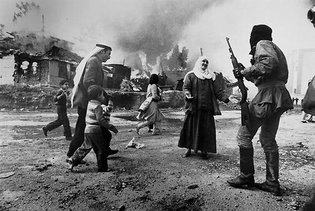 De Libanese burgeroorlog.
