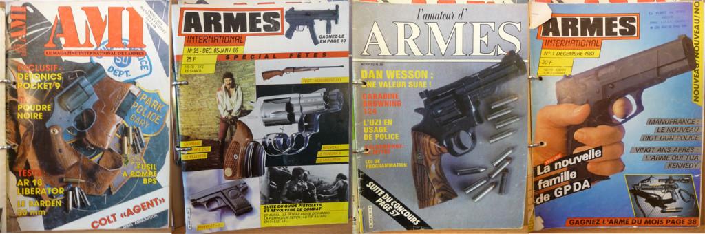 Afbeeldingen van de magazines.
