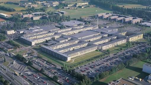 Het NAVO-hoofdkwartier in Evere.