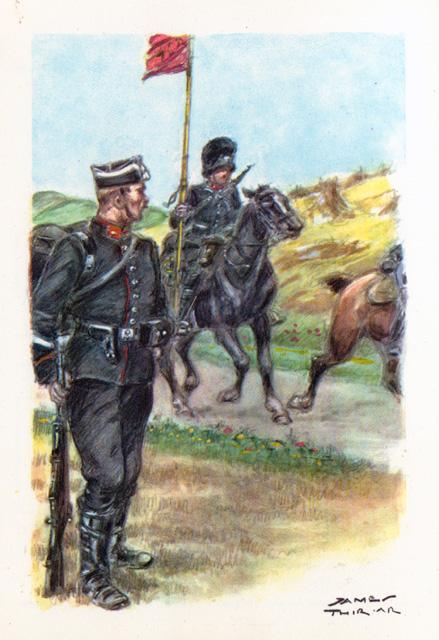 De rijkswacht tijdens de Eerste Wereldoorlog.
